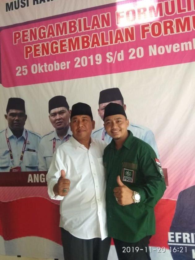 Kembalikan Formulir Bacawabup Ke DPC Partai Gerindra,HT Serius Maju Pilkada Muratara
