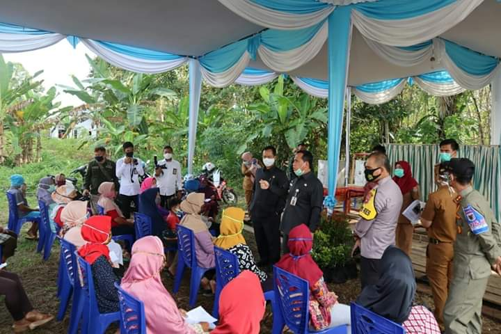 10 Kelurahan Terbaik Kampung Tangkal Covid-19 di Swab Test Massal