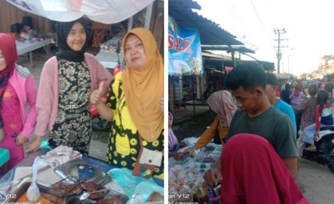 Berkah Ramadhan, Pasar Bedug Lawang Agung Muratara Ramai Pembeli